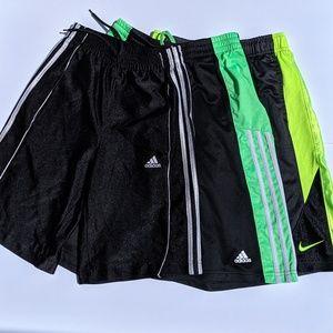 Bundle of 3 Sport Shorts Youth Medium